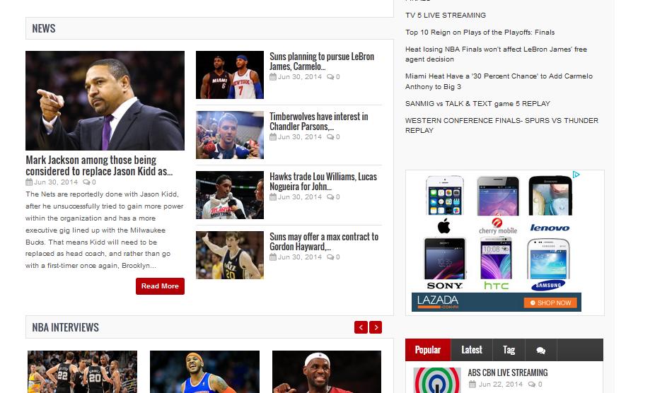NBA REPLAY Android App - Download NBA REPLAY