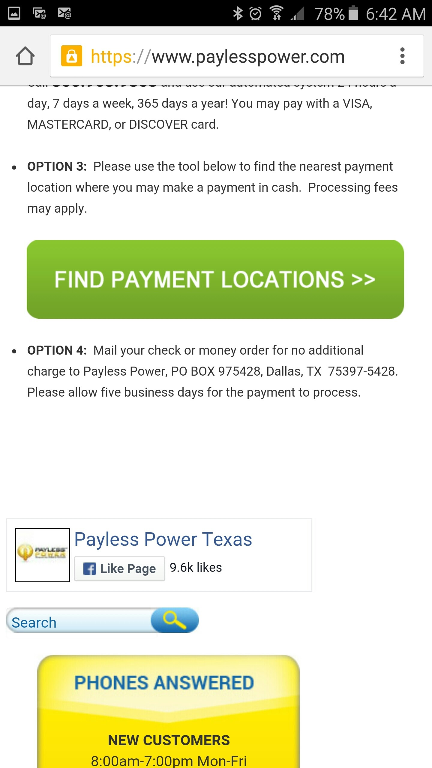 Payless Power Reviews >> Payless Power Texas Android App Download Payless Power Texas