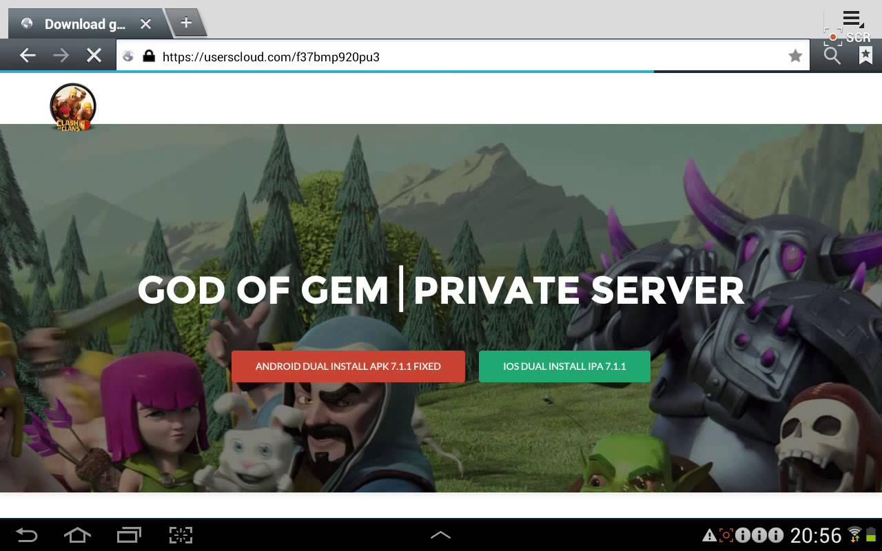 God of Gem private server Android App - Download God of Gem