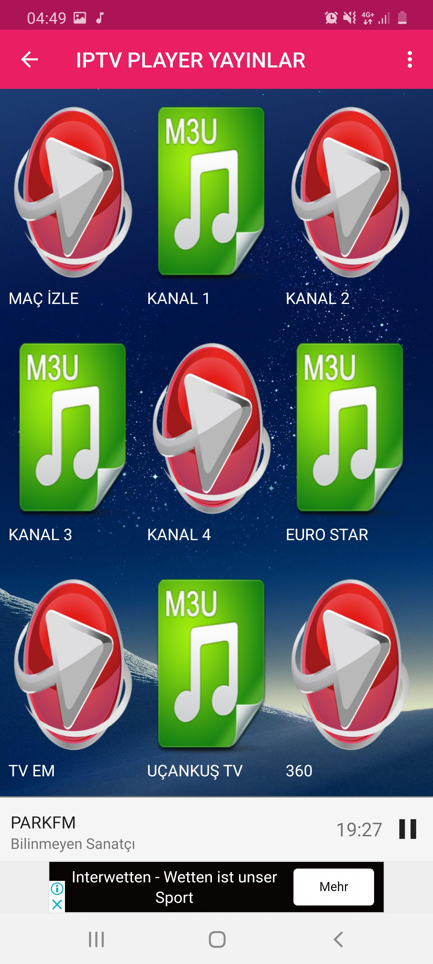 IPTV Player Android App - Download IPTV Player