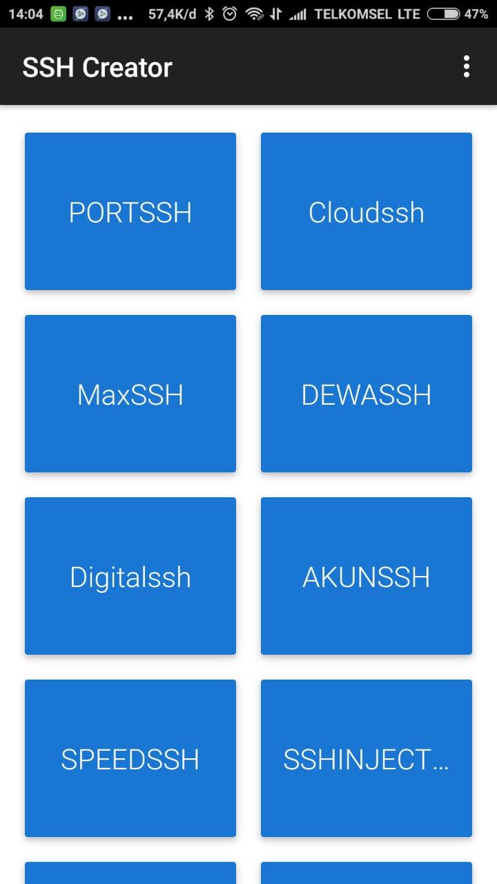 SSH SSL Creator Android App - Download SSH SSL Creator