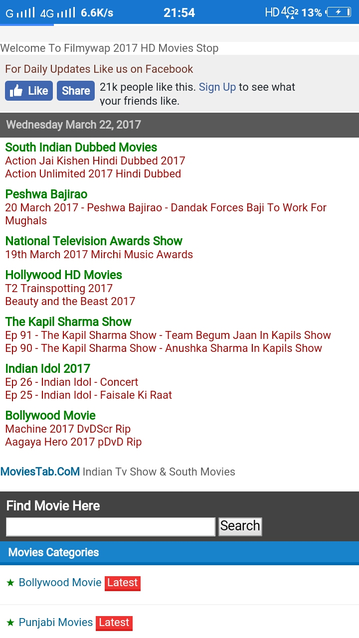 Filmywap CoM Filmywap 2017 New Hindi Full Movies Download, Filmywap