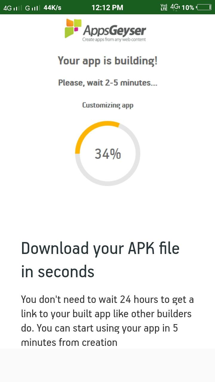 Free App Creator Android App - Download Free App Creator