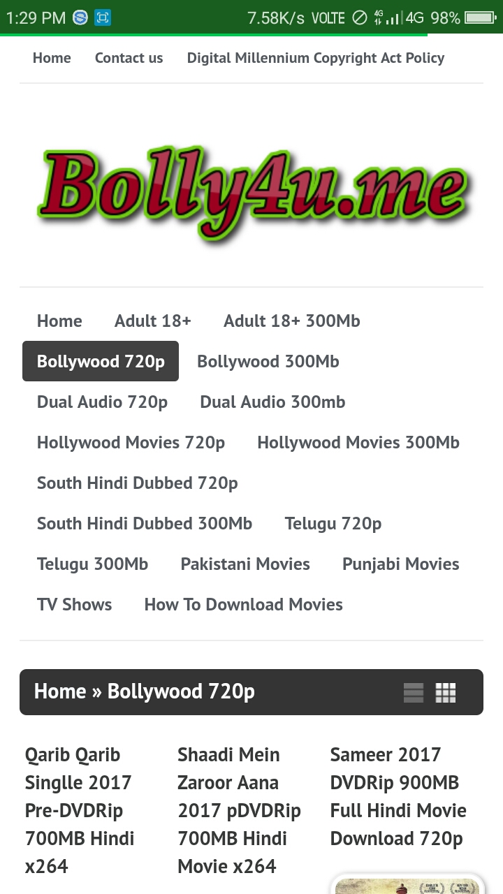 bolly4u app Android App - Download bolly4u app
