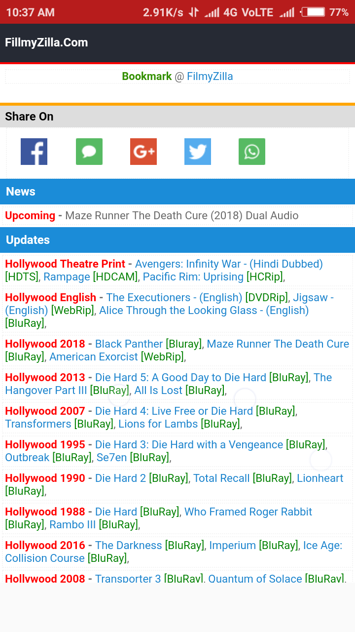 filmyzilla hollywood hd hindi dubbed movie download