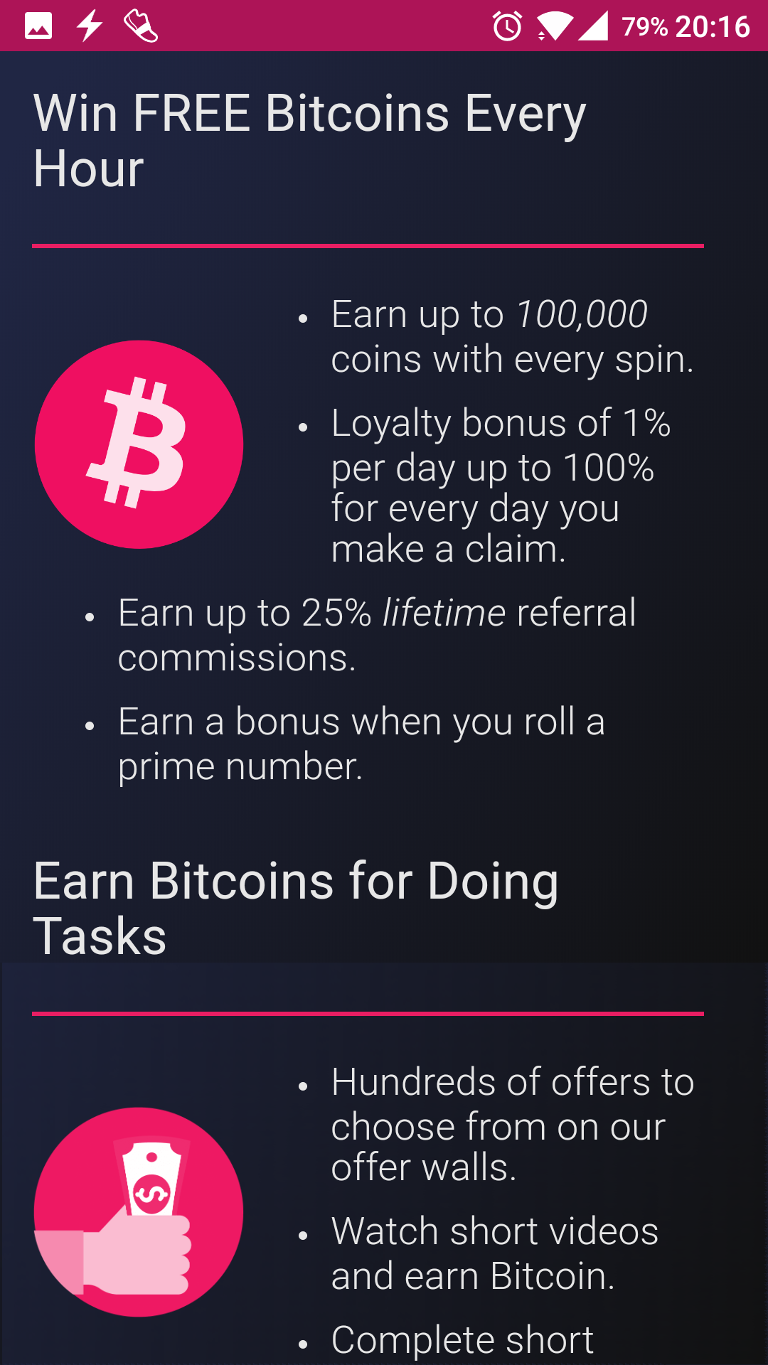 Cointiply Bitcoin Faucet Android App - Download Cointiply