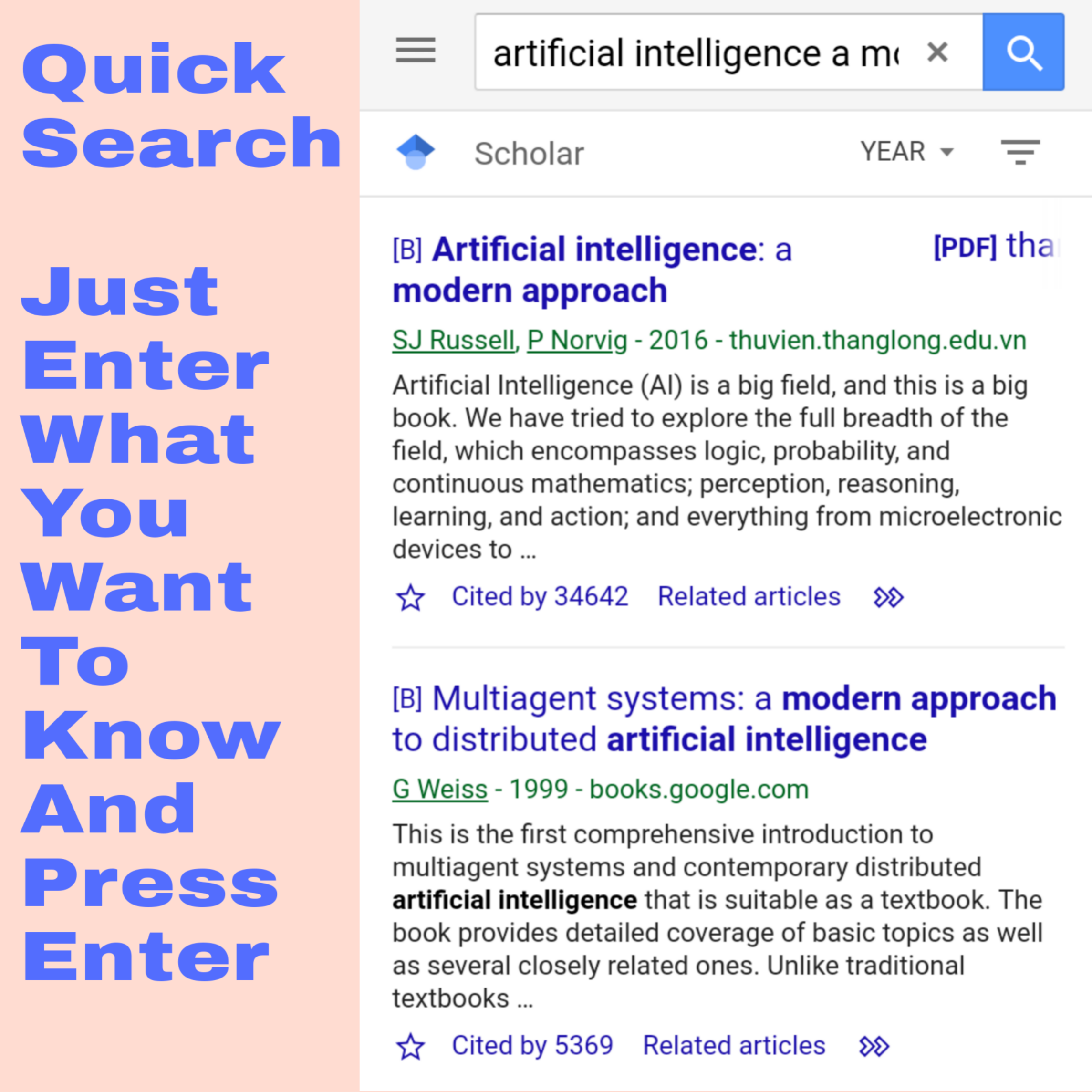 Google Scholar Android App - Download Google Scholar