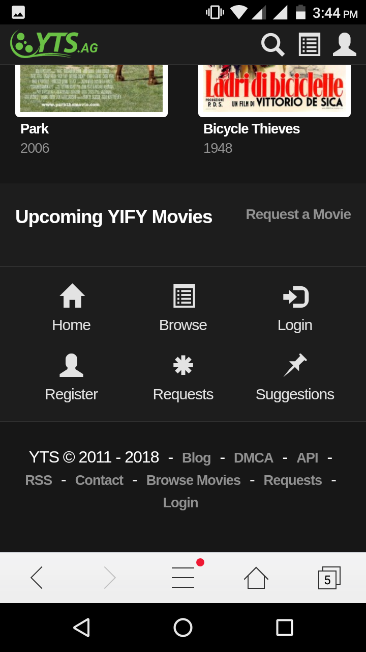 Yify Movies yts Android App - Download Yify Movies yts