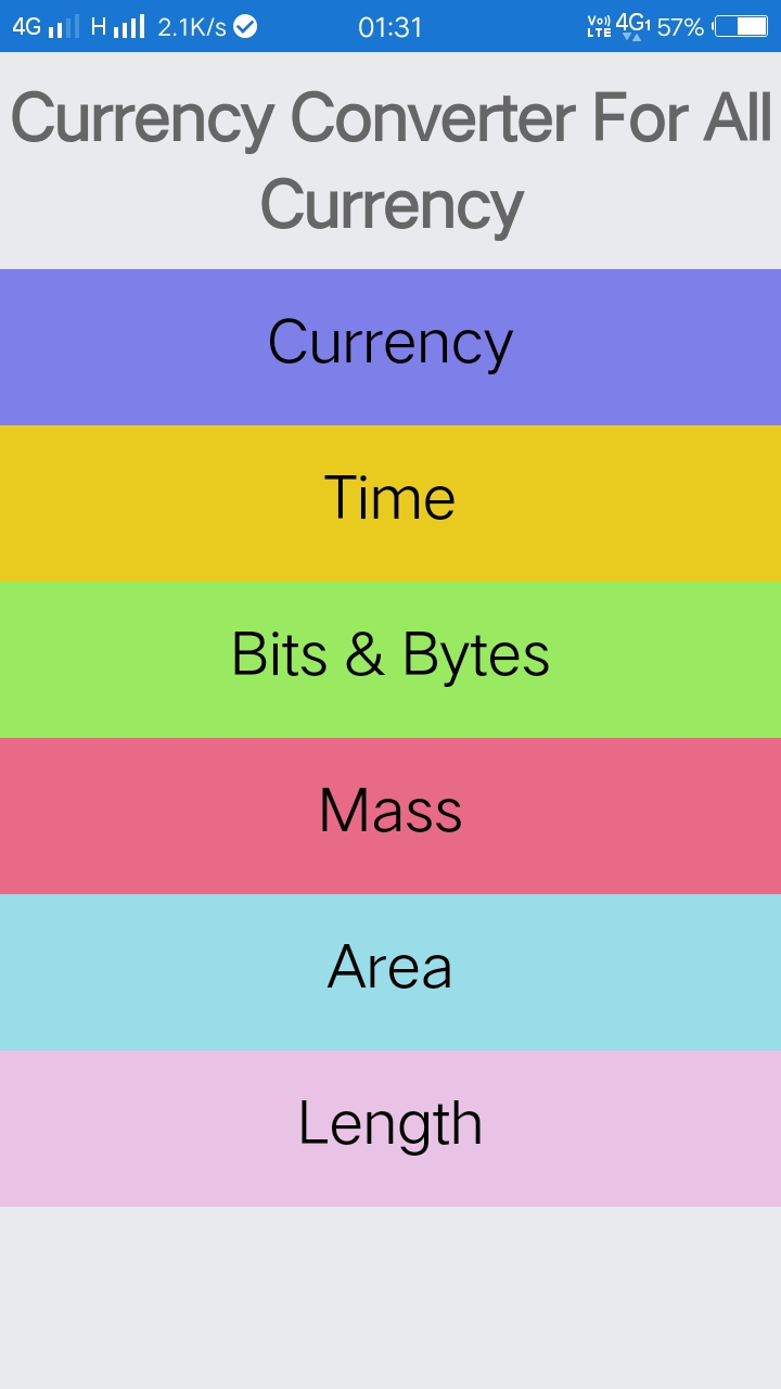 Currency Converter For All Currency Android App - Download