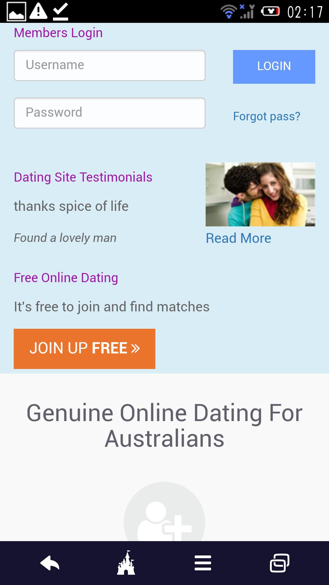 online dating toimijoiden