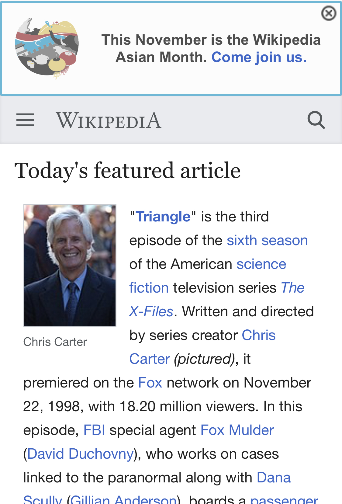 Wikipedia mobile version Android App - Download Wikipedia