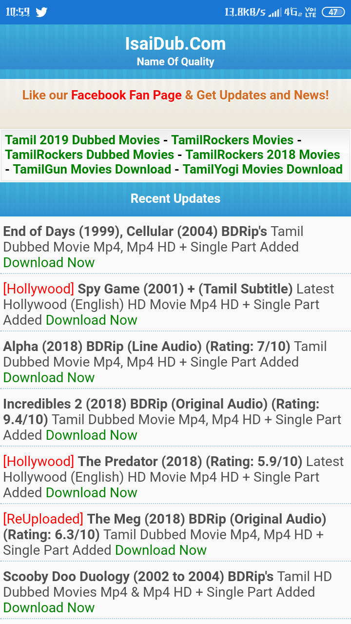 Tamil New Movies HD Android App - Download Tamil New Movies HD