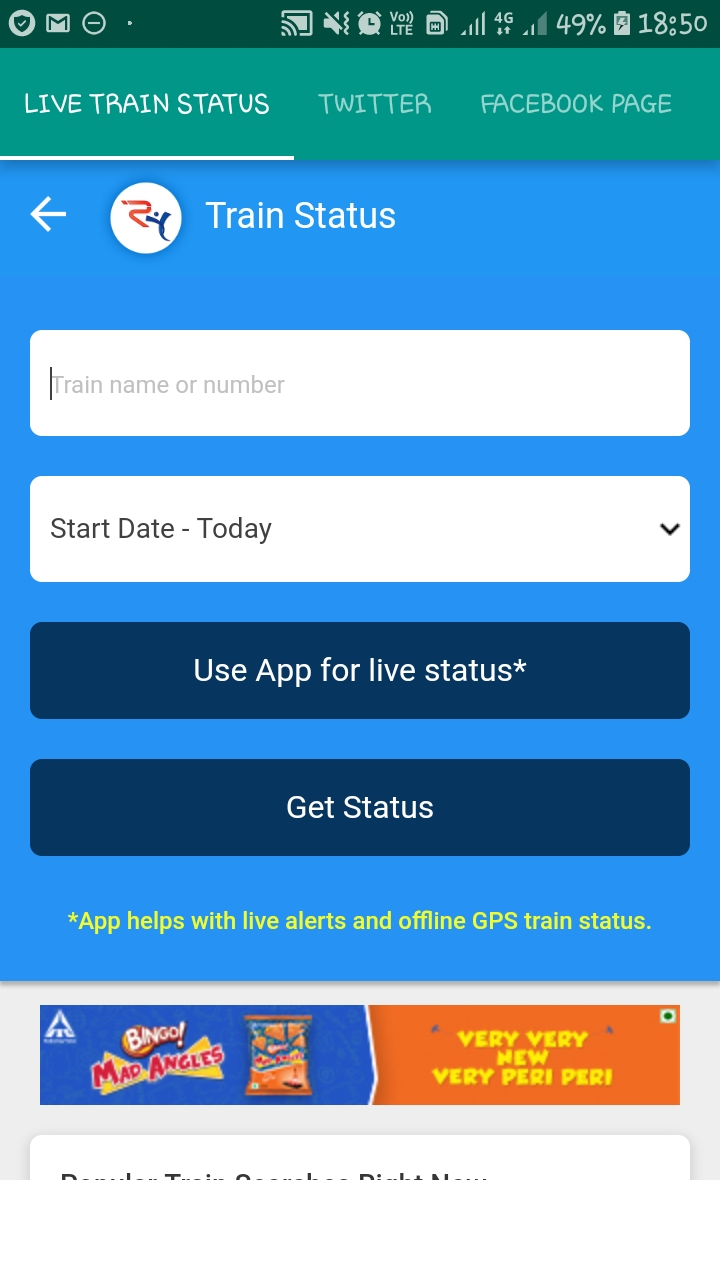 LIVE TRAIN STATUS Android App - Download LIVE TRAIN STATUS